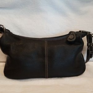 The Sak Black Leather Satchel